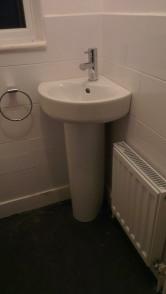 cloakroom sink
