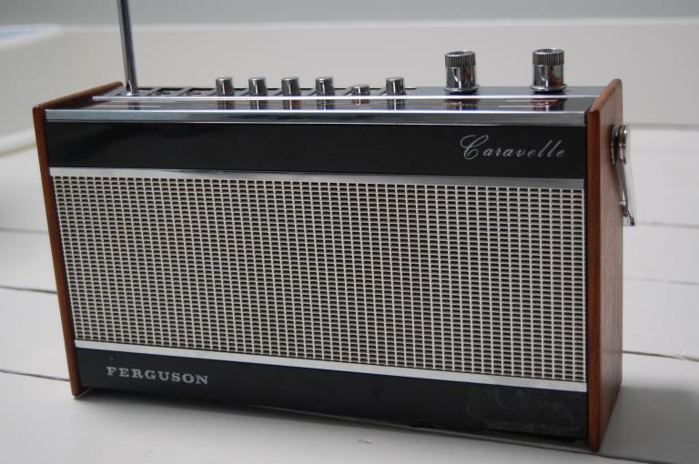 Ferguson Caravelle 50s radio