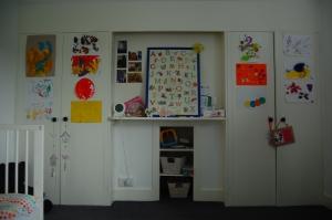 Girl's bedroom - before