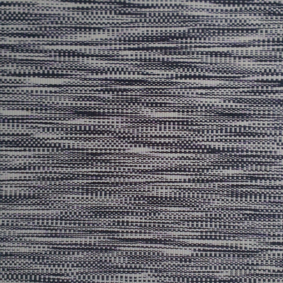 black and white rug pattern