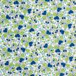 V&A cotton fabric - hearts