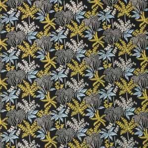 V&A cotton fabric - seaweed