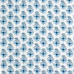 V&A cotton fabric - seaweed