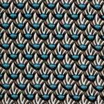 V&A cotton fabric - shells