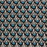V&A cotton fabric - shells