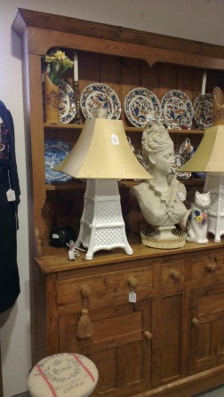 Antique dresser and accessories - The Old Flight House