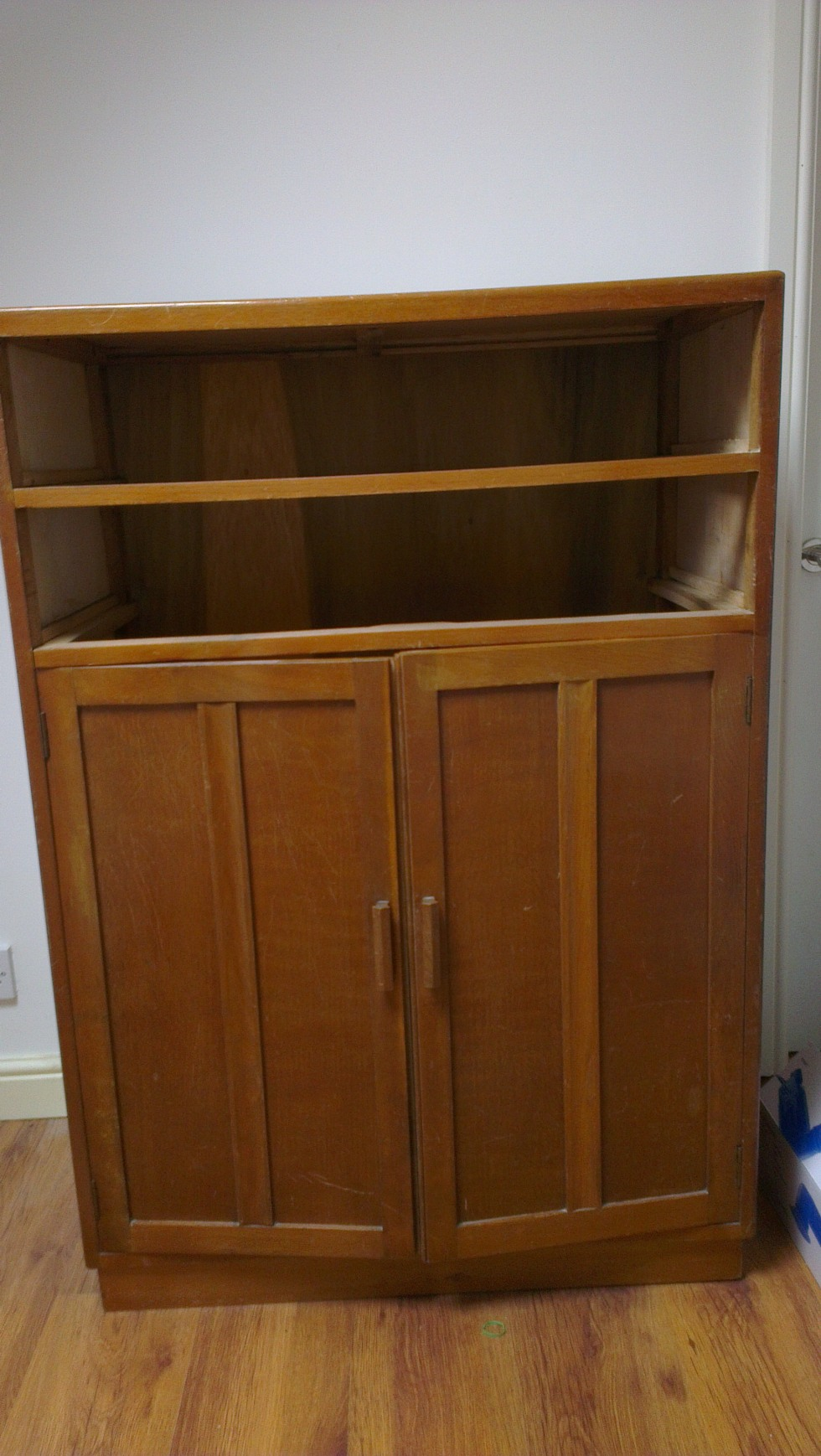 1930s cupboard before