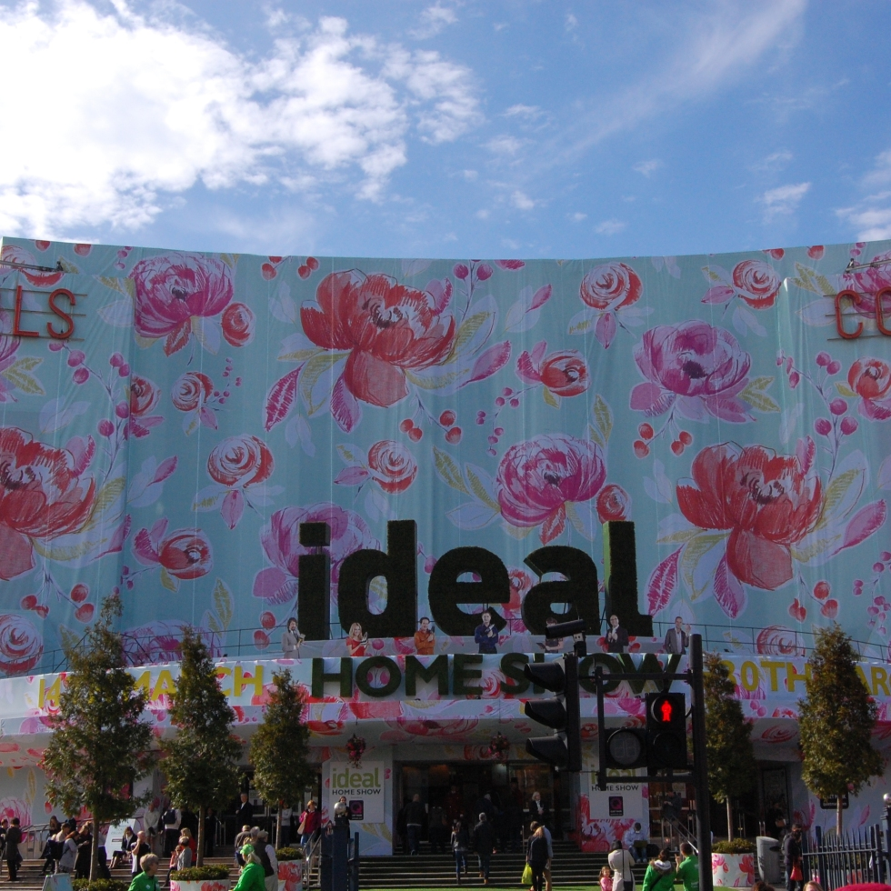ideal home exhibition at Earl's Court