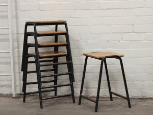 vintage lab chairs - scaramanga