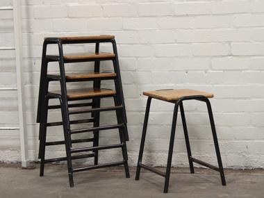 vintage lab chairs - scaramanga