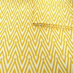 Thunderbolt (Lemon) fabric by Sarah Waterhouse