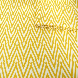 Thunderbolt (Lemon) fabric by Sarah Waterhouse